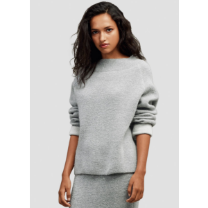 Bonded Mock Neck Sweater | Kenneth Cole