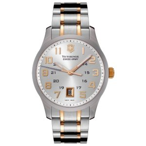 Men's Alliance Silver Dial Two Tone Stainless Steel | World of Watches