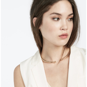 Minimal Metal Collar-Gold | BaubleBar