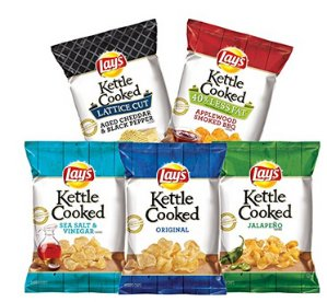 $8.92Lay's Kettle Chips Variety Pack, 1.375 oz Bags, 30 Count