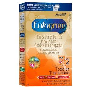 Enfagrow 2段婴儿配方奶粉 9-18M 28oz