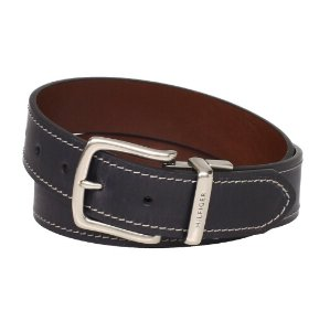 Tommy Hilfiger Men's Contrast-Stitching Jean Belt