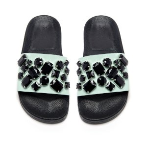 Loeffler Randall Cat Women's Slide