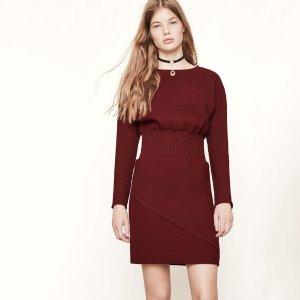 RINCY Woven dress with elasticated waist - Dresses - Maje.com