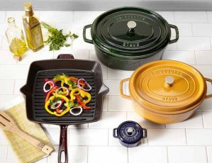 Up to 60% Off+Extra 25% Off on Staub Cookwares Sales @ Bloomingdales