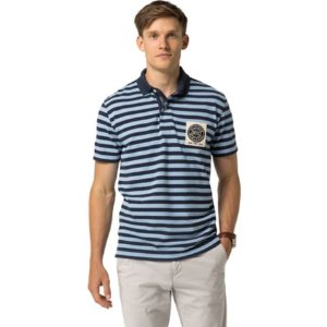 Classic Fit Nyc Crest Polo