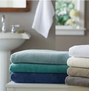 Pinzon 650-Gram Pima Cotton 6-Piece Towel Set @ Amazon