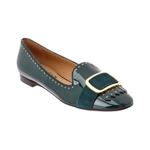 Salvatore Ferragamo Patent Loafer (394633601) | Bluefly