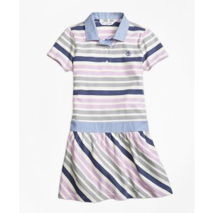 Cotton Multistripe Dress - Brooks Brothers