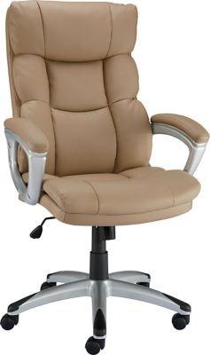 $79.99Staples Burlston Luxura 豪华办公椅,双色可选