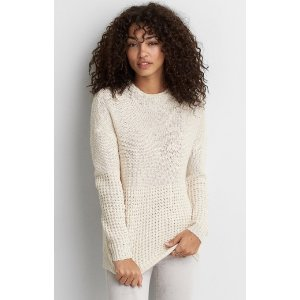 AEO MOCK NECK JEGGING SWEATER