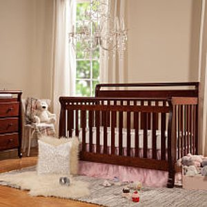 DaVinci Emily 4-in-1 Convertible Crib - Cherry - DaVinci - Babies