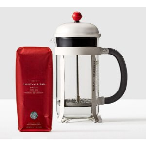 Holiday Coffee Brewing Set