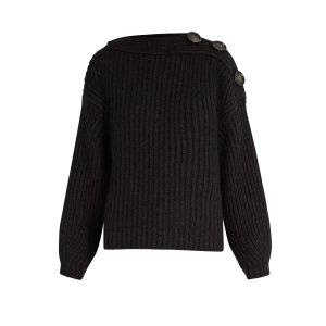 Holden boat-neck wool-blend sweater | Acne Studios