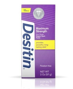 Desitin Maximum Strength Original Paste, 4 Oz