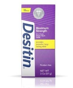 Desitin Maximum Strength Original Paste, 4 Oz