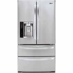 LG 27 cu. ft. Ultra Capacity 4-Door French Door Refrigerator