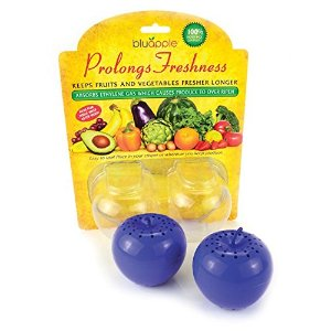 Bluapple 2-pack - Freshness extender - Absorbs ethylene gas - Keeps produce fresher longer