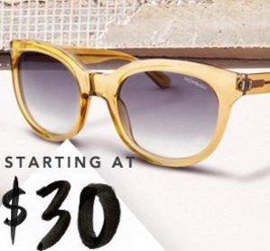 Starting at $30 Sunglasses Featuring Valentino  @ Rue La La