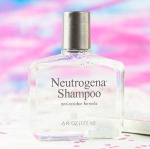 $3.49 Neutrogena Shampoo, Anti-Residue Formula, 6 Ounce