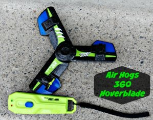 Lowest price! $15.92 Air Hogs, 360 Hoverblade, Remote Control Boomerang, Blue