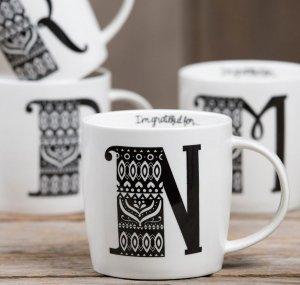 $5.2 NATURAL LIFE Initial Ceramic Mug @ Nordstrom
