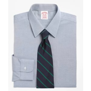 Men's Non-Iron Traditional Fit Point Collar Dress Shirt | Brooks Brothers