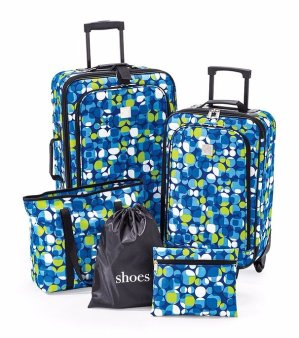 Start! 2016 Black Friday! $39.97 Exclusively, TravelQuarters or Relativity 5-pc. Luggage Sets @ Bon-Ton