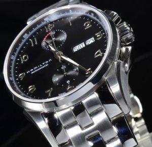 Hamilton Jazzmaster Maestro men's Auto Chrono watch H32576135