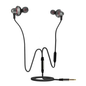 Seedforce Earbuds In-Ear Headphones Metal Design