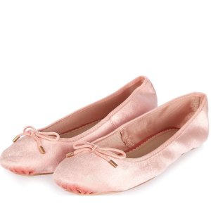 VIBRANT Velvet Ballet Pumps