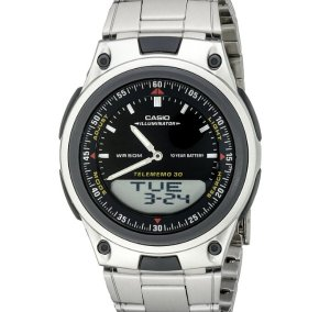 Casio Men's 10-Year Battery Ana-Digi Bracelet Watch
