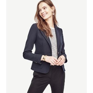 Single Button Blazer | Ann Taylor