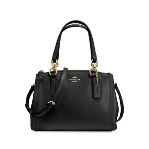 Crossgrain Leather Satchel | Lord & Taylor