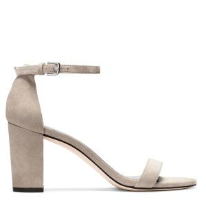 NearlyNude Block Heel Sandals - Shoes | Shop Stuart Weitzman