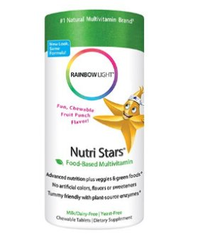 $7.94 Rainbow Light Nutri Stars Multivitamin & Multimineral Chewables Children's Tablets 120 tablets