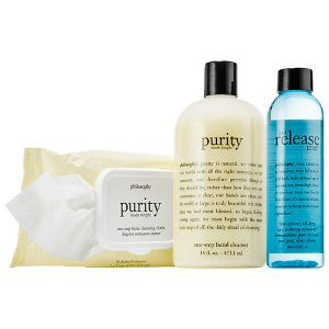 $35(reg. $70) philosophy Purity Cleansing Collection