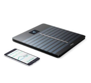 Withings Body Cardio Heart Health and Body Composition Wi-Fi Scale, Black