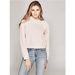 Sybil Scuba-Knit Pullover | GUESS by Marciano