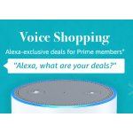 Using Alexa Voice Ordering Services by Prime Members w/ an Alexa Enabled Device