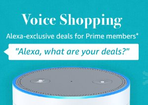 Get $5 Giftcard Using Alexa Voice Ordering Services by Prime Members w/ an Alexa Enabled Device