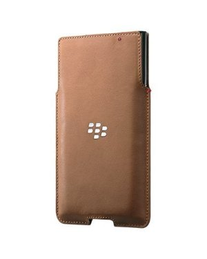 BlackBerry Leather Pocket Case for BlackBerry PRIV - Tan