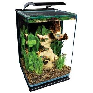 Marineland Portrait Glass 5 Gallon LED Aquarium Kit, 11.8