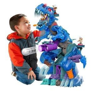 $44(原价$99.99)Fisher-Price Imaginext 冰霜霸王龙玩具