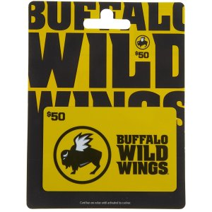Buffalo Wild Wings Gift Card $50: Gift Cards