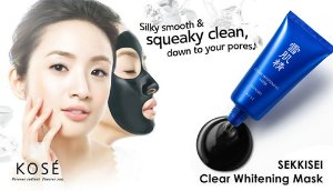 $24.2 Kose Sekkisei Clear Whitening Mask 76ml 2.8oz