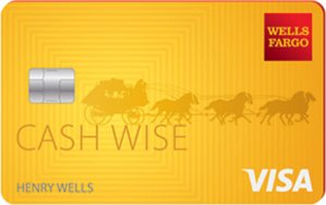 Earn $150, Unlimited 1.5% cash rewardsWells Fargo Cash Wise Visa® Credit Card