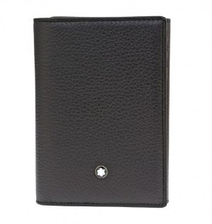 Montblanc Meisterstuck Soft Grain Trifold Card Holder Wallet