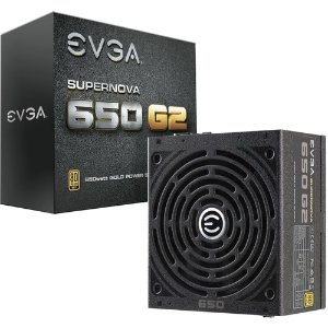 EVGA SuperNOVA 650 G2 650W 80 Plus Gold Modular PSU