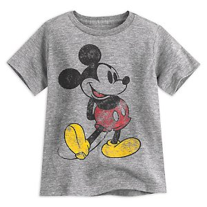 Mickey Mouse Classic Heathered Tee for Boys | Disney Store